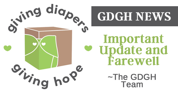Giving Diapers, Giving Hope