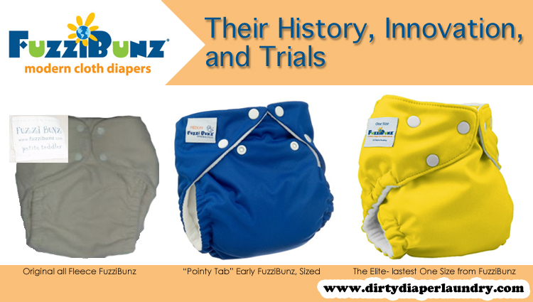 The History of Fuzzibunz Cloth Diapers