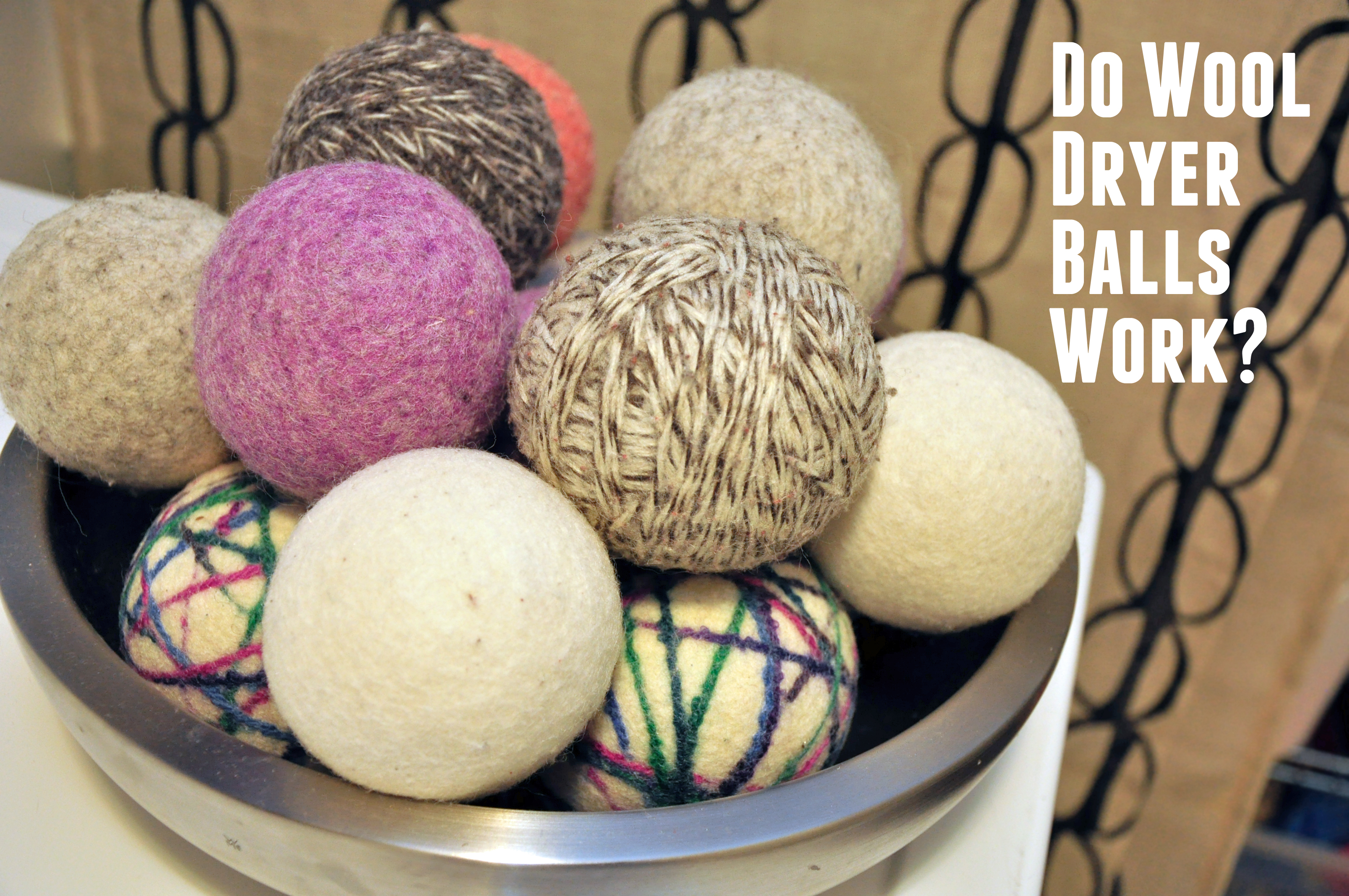 Do wool dryer balls cut down on drying time?