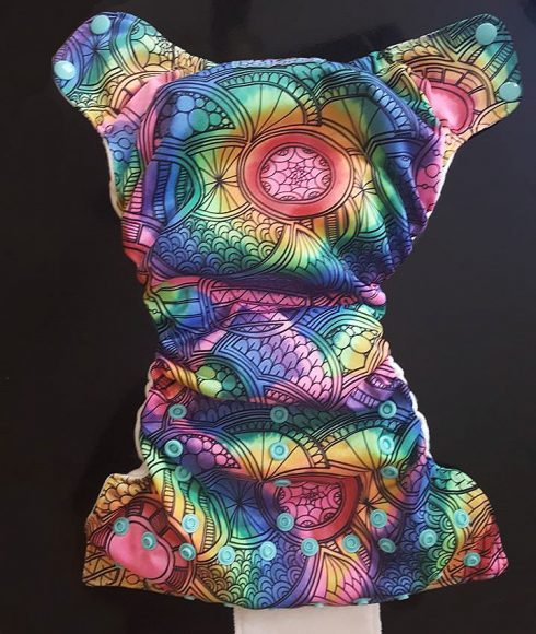 Another take on Tie-Dye from Melissa Attlee